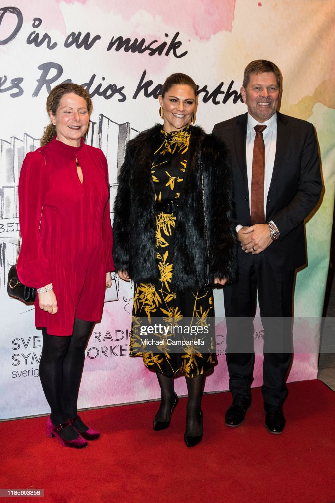 Crown Princess Victoria Of Sweden Attends A Concert In Stockholm : News Photo