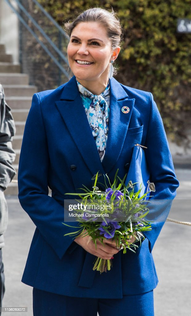 Crown Princess Victoria Of Sweden Attend The Opening Of The Baltic Sea Science Center : News Photo