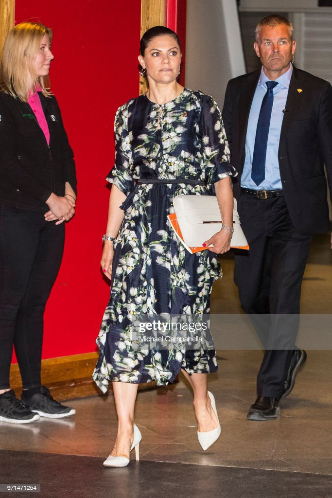 Crown Princess Victoria of Sweden Attends EAT Stockholm Food Forum