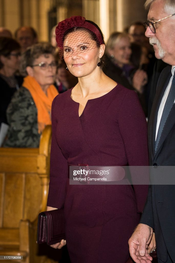 Swedish Royals Attend The Opening Of The Church Meeting In Uppsala : News Photo
