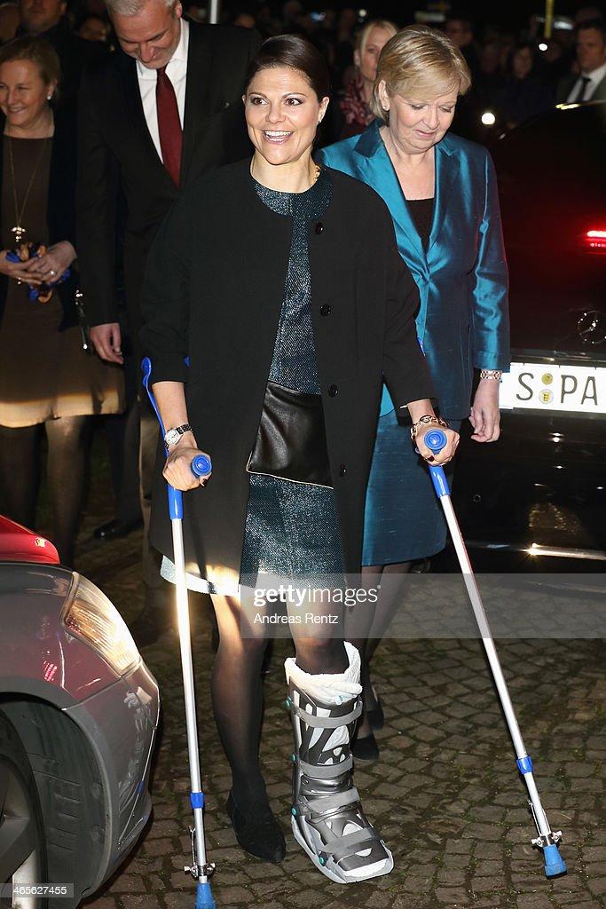 Crown Princess Victoria And Prince Daniel Of Sweden Visit North Rhine-Westphalia