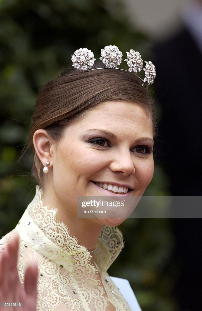 Princess Victoria Of Sweden : News Photo