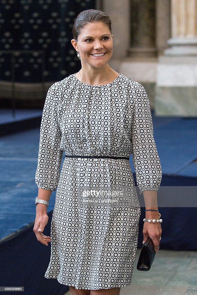 Swedish Royals Attend Kammarkollegiet's 475th Anniversary Celebrations : News Photo