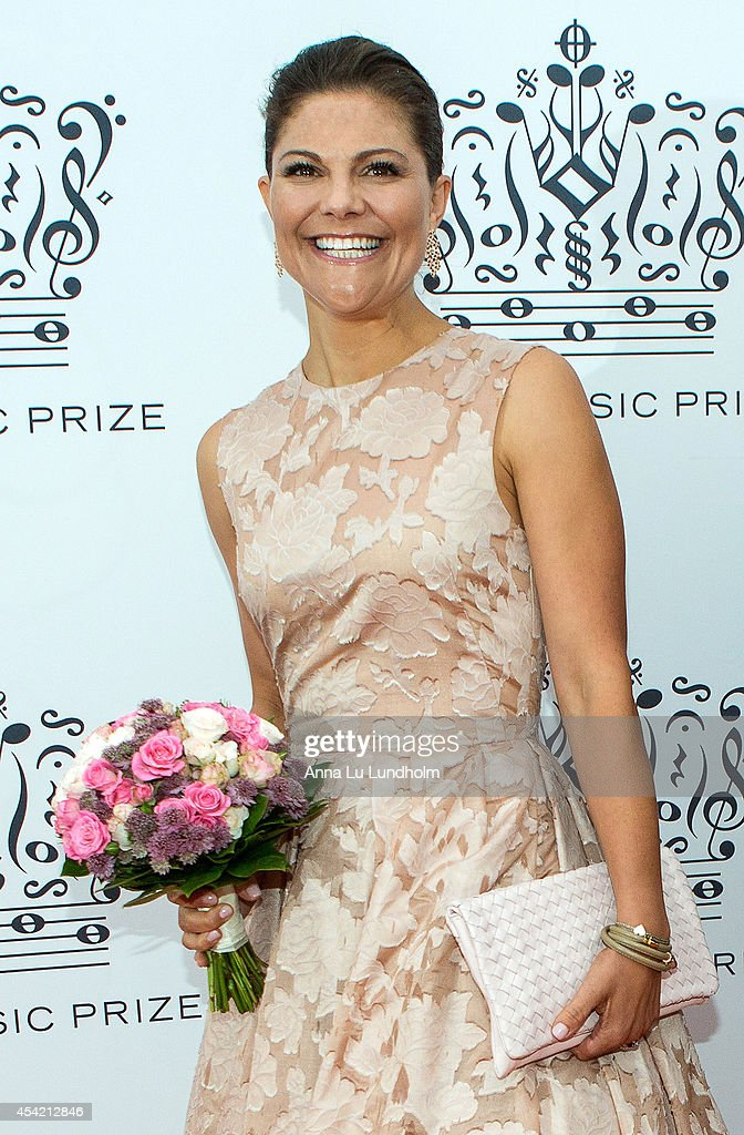 Swedish Royals Attend Polar Music Prize at Stockholm Concert Hall : ニュース写真