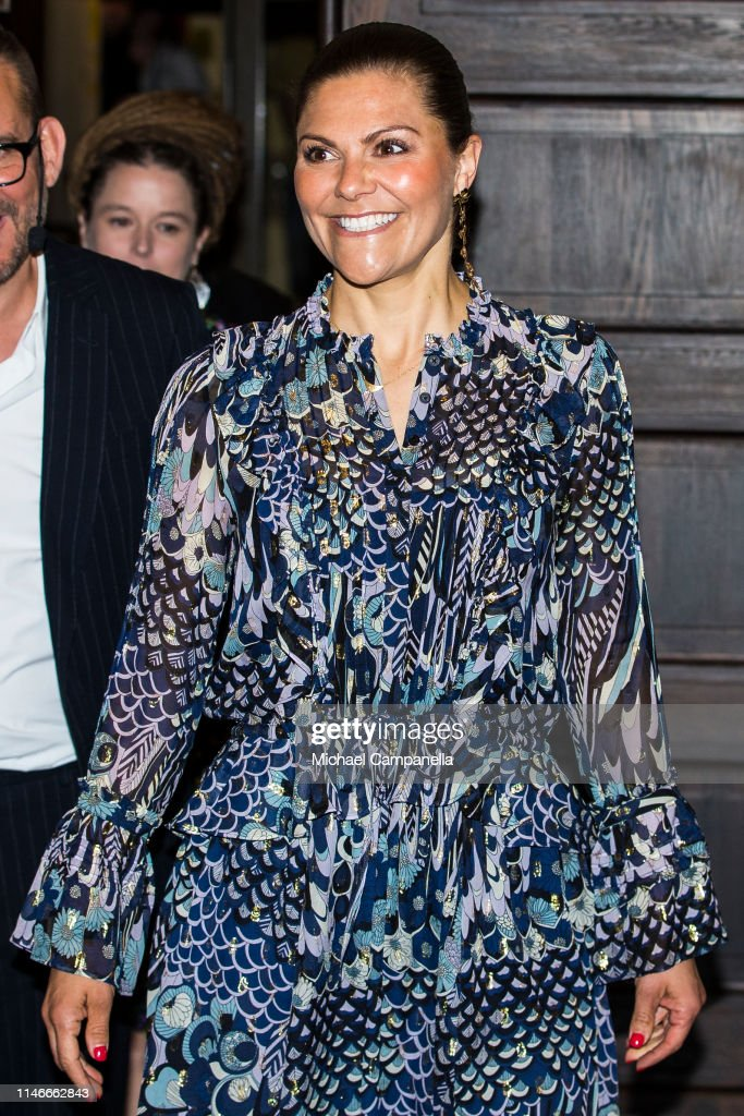Crown Princess Victoria Of Sweden Attends The Presentation Of The ALMA Prize 2019 : News Photo