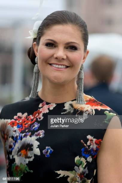Crown Princess Victoria of Sweden attends a Gala Banquet hosted by The Government at The Opera House as part of the Celebrations of the 80th...