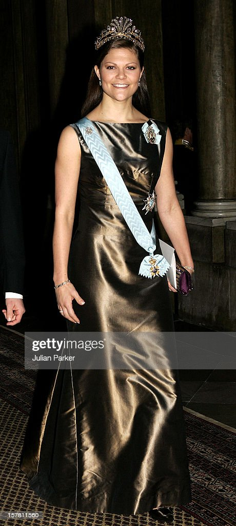 Gala Dinner For Nobel Laureates At The Royal Palace In Stockholm : News Photo