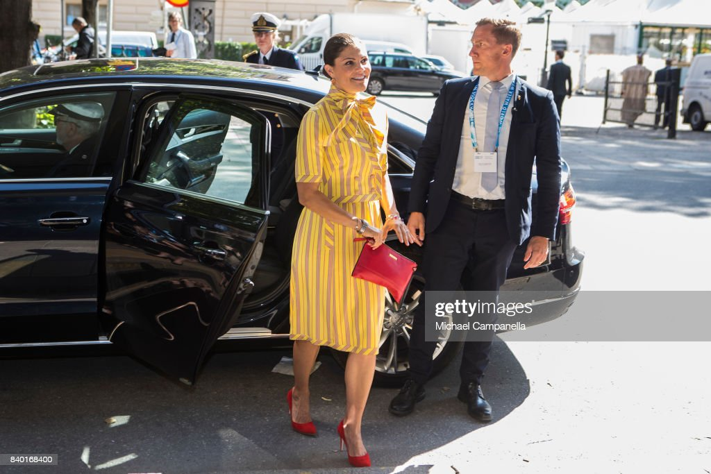 Crown Princess Victoria Attends A Seminar On Antibiotic Resistance at World Water Week : News Photo