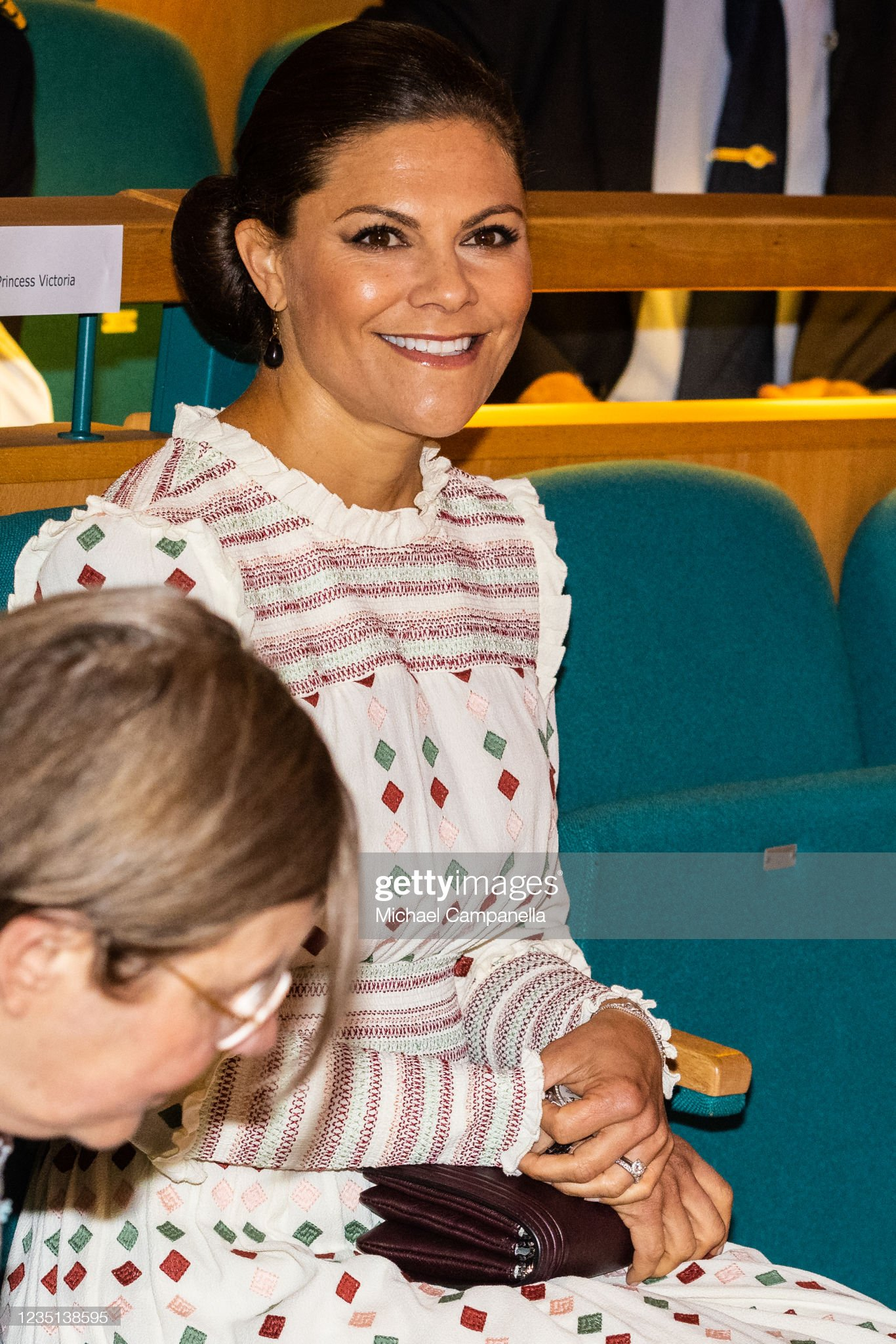 Crown Princess Victoria Of Sweden Attends The Inauguration Of The European Society of International Law (ESIL) Annual Conference : News Photo
