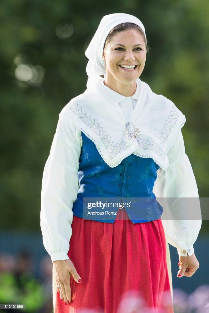 The Crown Princess Victoria of Sweden's 40th birthday Celebrations in Borgholm : News Photo
