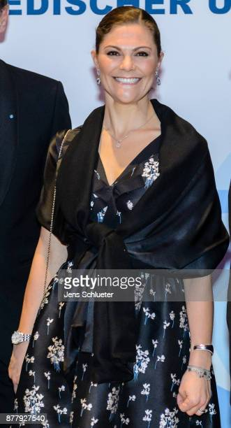 Crown Princess Victoria of Sweden attends the ceremony of the Swedish Business Prize 2017 on November 23 2017 in Leipzig Germany