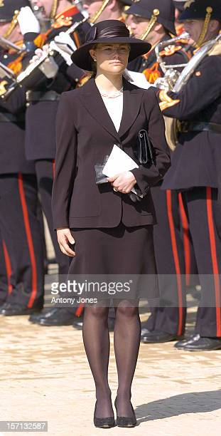 Crown Princess Victoria Of Sweden Attends The Funeral Of Hrh Princess Juliana Of The Netherlands At The Nieuwe Kerk In Delft