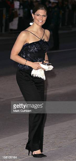 Crown Princess Victoria Of Sweden Attends The Gala Premiere Of The Fantasia 'Raddish Stuffed Cabbage' At The Royal Danish Theatre During The Hans...