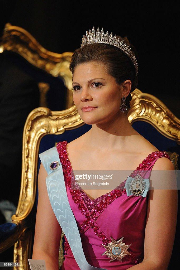 Nobel Prize Award Ceremony 2008 : News Photo