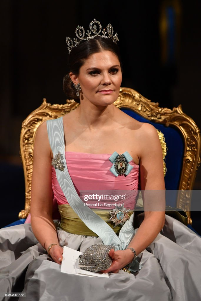 The Nobel Prize Award Ceremony 2018 : News Photo