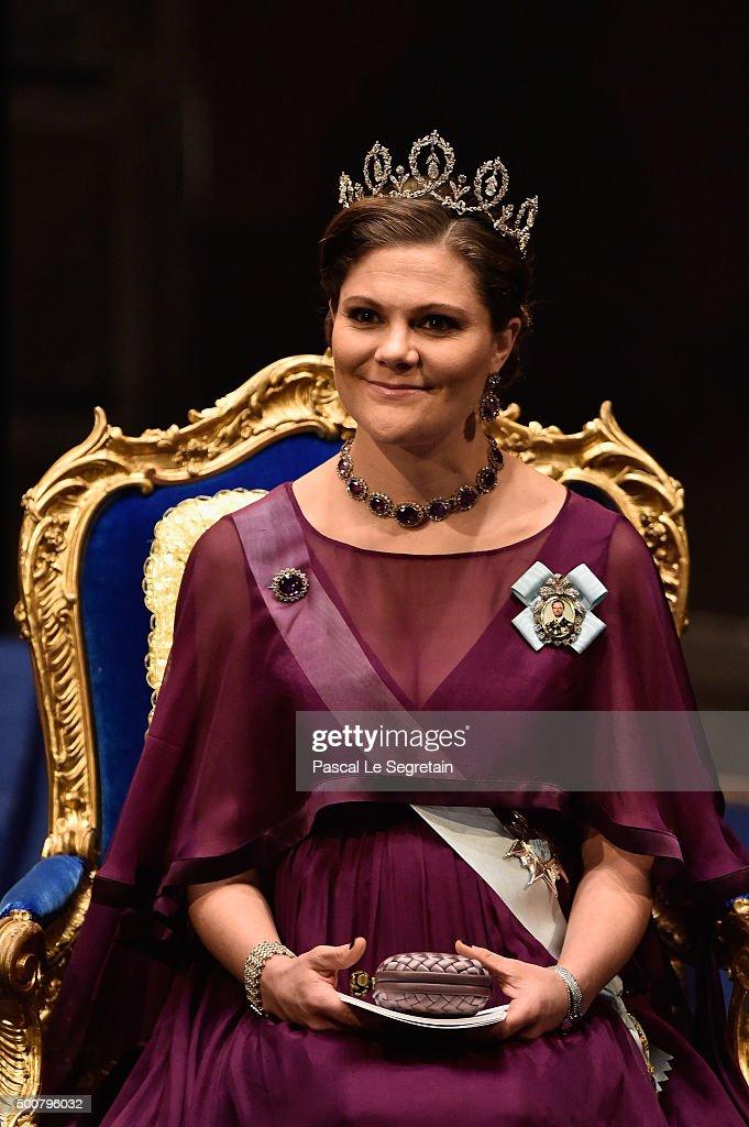 The Nobel Prize Award Ceremony 2015 : News Photo