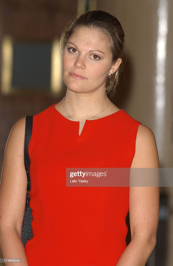 """Crown Princess Victoria of Sweden Attends the Opening of the Expo """"Images of"""