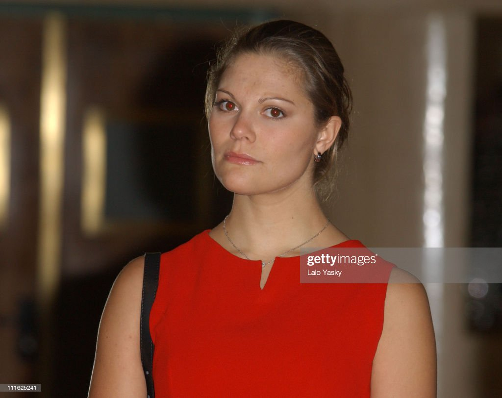 "Crown Princess Victoria of Sweden Attends the Opening of the Expo ""Images of"