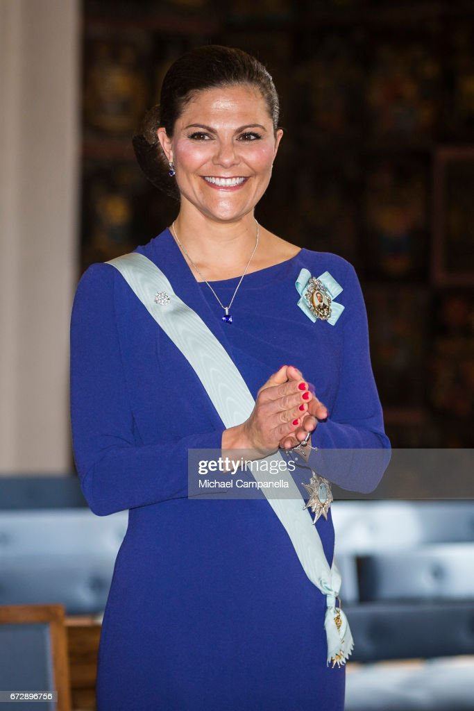 Crown Princess Victoria Of Sweden Attends the Royal Patriotic Society's Annual Event
