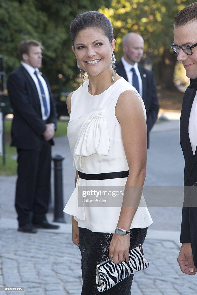 Swedish Government Dinner To Celebrate King Carl Gustaf's 40th Jubilee : News Photo