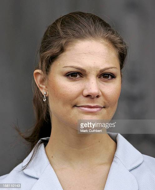 Crown Princess Victoria Of Sweden Attends The Swedish National Day Celebrations At The Royal Palace In Stockholm. .