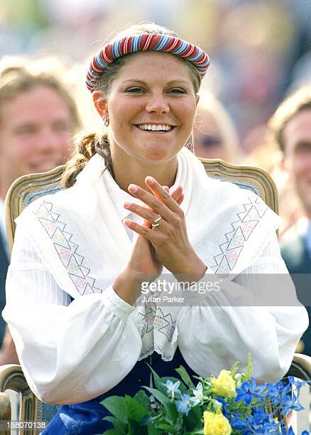 Crown Princess Victoria Of Sweden Celebrates Her 24Th Birthday With Her Family At A Concert In Bergholm