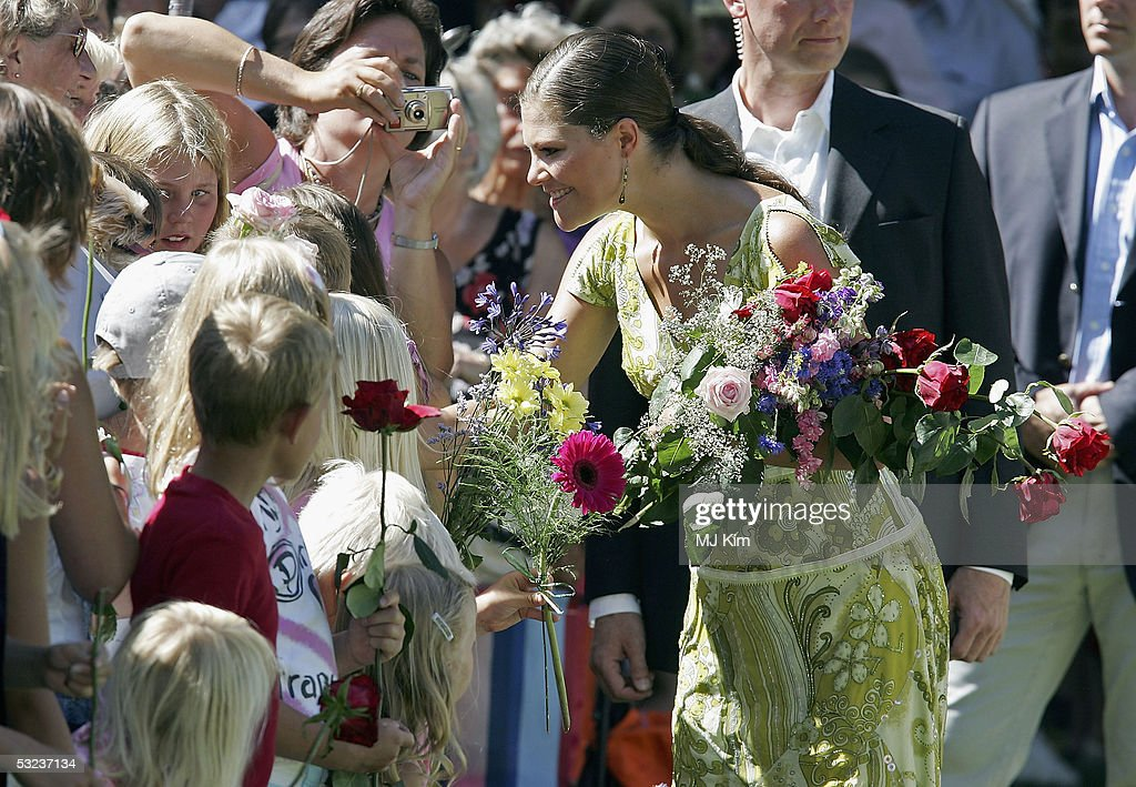 Crown Princess Victoria Of Swedens Birthday Celebrations : News Photo