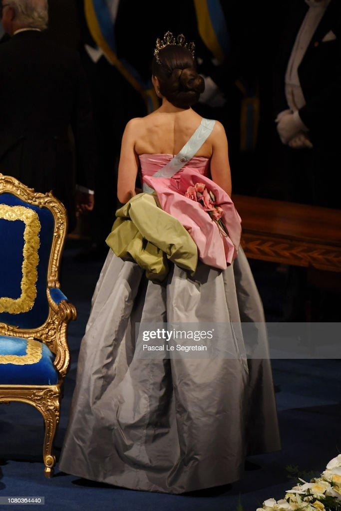 The Nobel Prize Award Ceremony 2018 : News Photo
