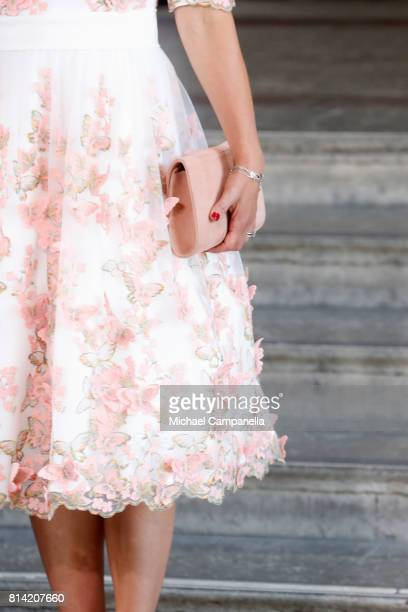 Crown Princess Victoria of Sweden, fashion detail, arrives for a thanksgiving service on the occasion of The Crown Princess Victoria of Sweden's 40th...