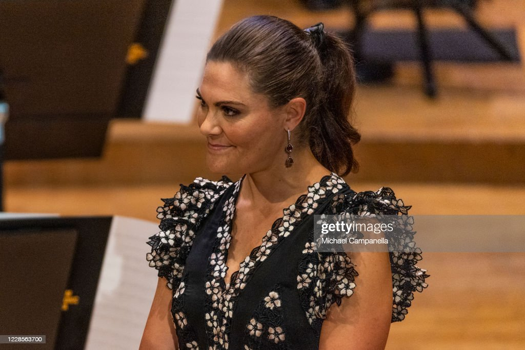 Swedish Royals Attend the Royal Philharmonic Orchestra's Season Opening : News Photo