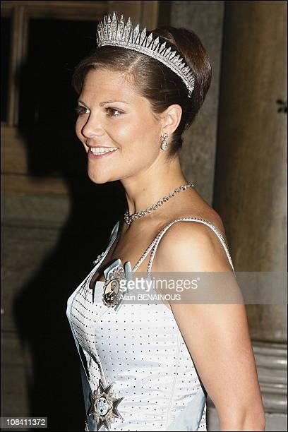 Crown Princess Victoria of Sweden in Stockholm, Sweden on April 30, 2006.