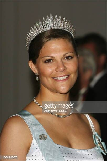Crown Princess Victoria of Sweden in Stockholm Sweden on April 30 2006
