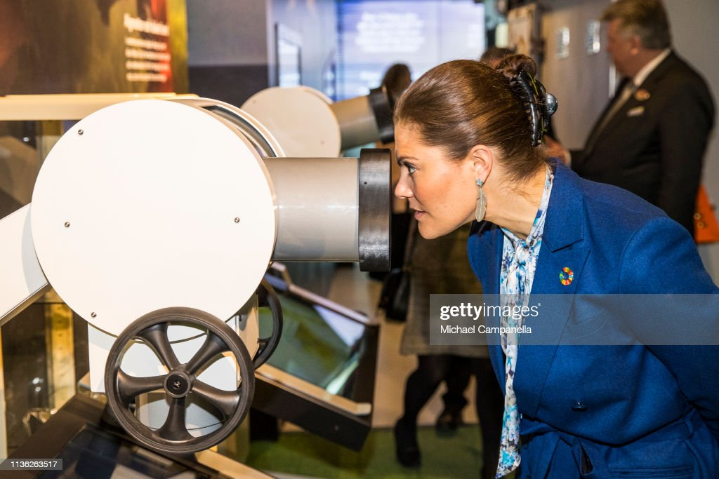 SWE: Crown Princess Victoria Of Sweden Attend The Opening Of The Baltic Sea Science Center