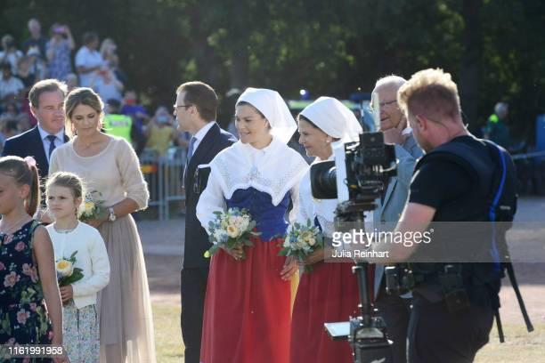 Crown Princess Victoria of Sweden, King Carl Gustaf of Sweden, Queen Silvia of Sweden, Prince Carl Philip of Sweden, Princess Sofia of Sweden,...