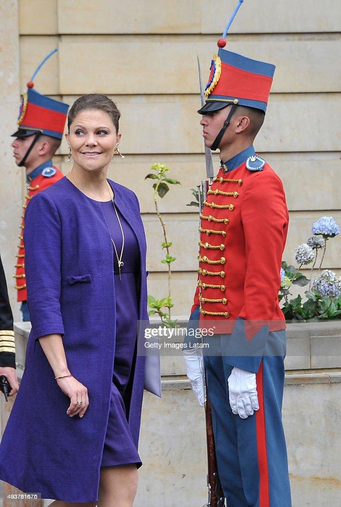 Swedish Royals Visit Colombia : News Photo