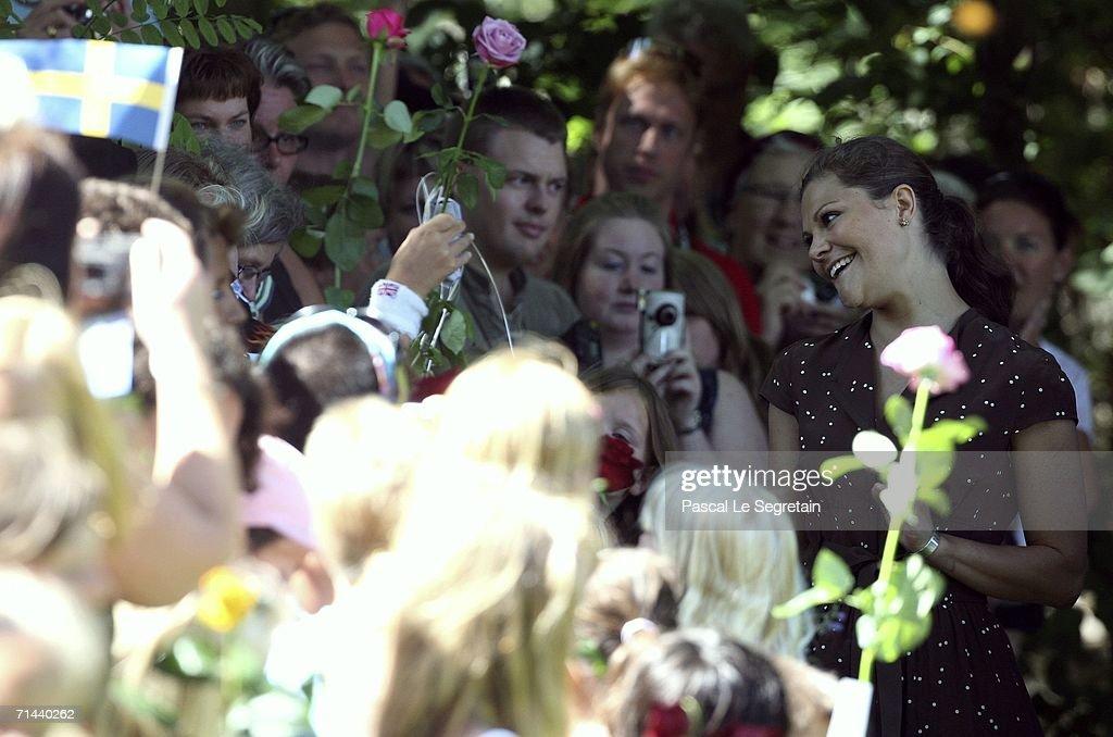 Sweden's Princess Victoria Celebrates Her Birthday : News Photo