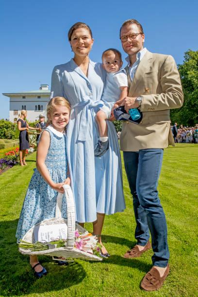 SWE: Crown Princess Victoria of Sweden 40th Birthday Celebrations in Solliden