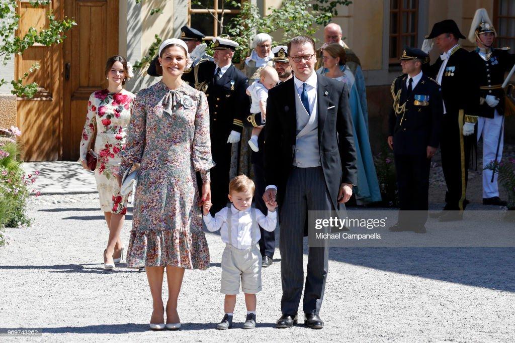 Christening  Of Princess Adrienne Of Sweden : ニュース写真