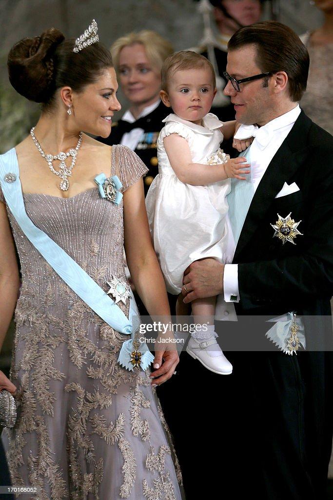 The Wedding Of Princess Madeleine & Christopher O'Neill : News Photo