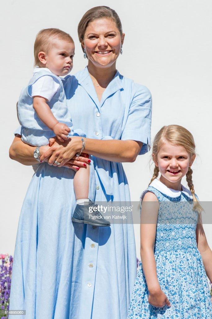 Crown Princess Victoria of Sweden 40th Birthday Celebrations in Solliden : ニュース写真
