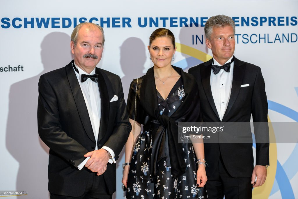 Crown Princess Victoria Of Sweden Visits Germany : News Photo