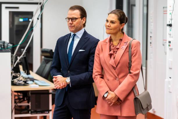 SWE: Swedish Royals Visit The ECMO Center