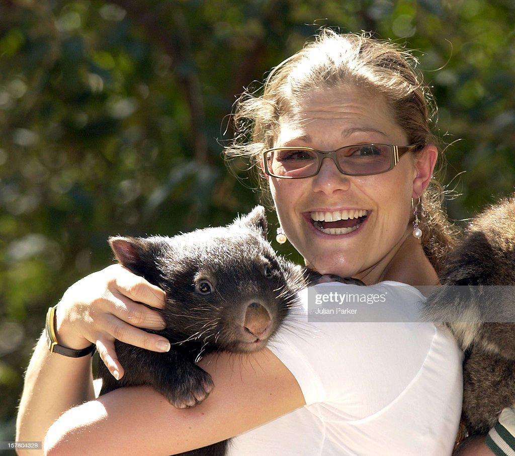 Crown Princess Victoria Of Sweden Visits Australia : News Photo