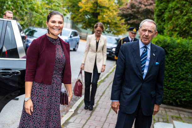 SWE: Swedish Royals Visit The Stockholm International Peace Research Institute