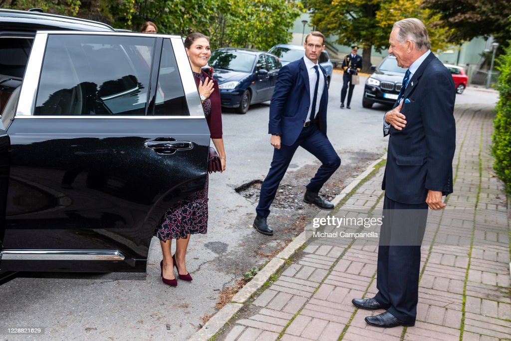 Swedish Royals Visit The Stockholm International Peace Research Institute : News Photo
