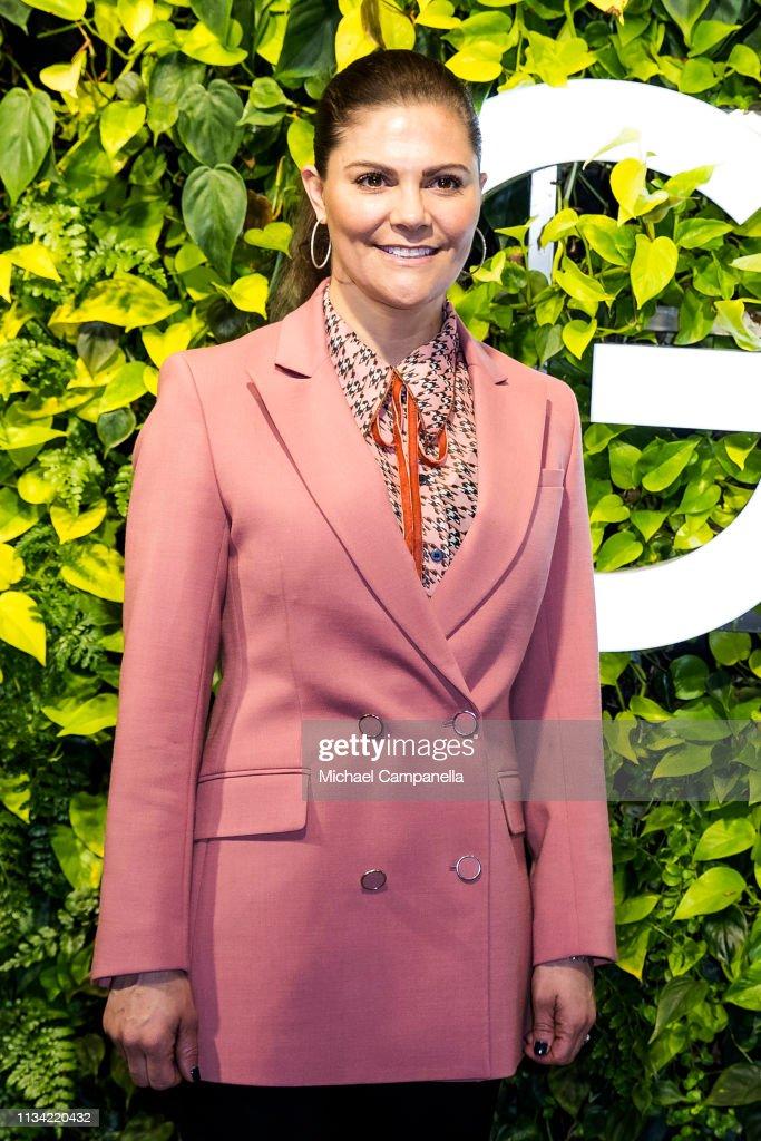 SWE: Crown Princess Victoria Of Sweden Visits Google Sweden