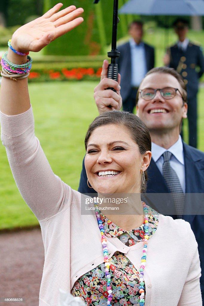 Crown Princess Victoria's Birthday : News Photo