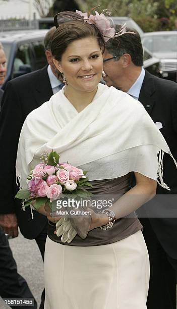 Crown Princess Victoria Of Sweden-Visit To Foss Technology Centre In Hillerod Near Copenhagen During The Swedish State Visit To Denmark. .
