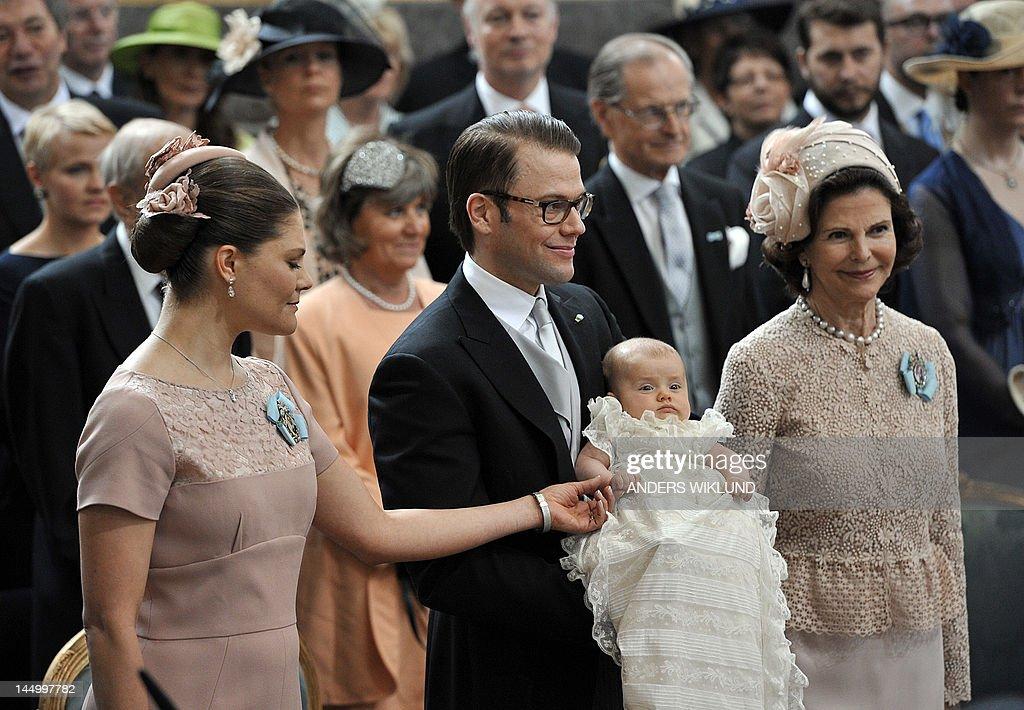 Crown Princess Victoria( L), Prince Dani : News Photo