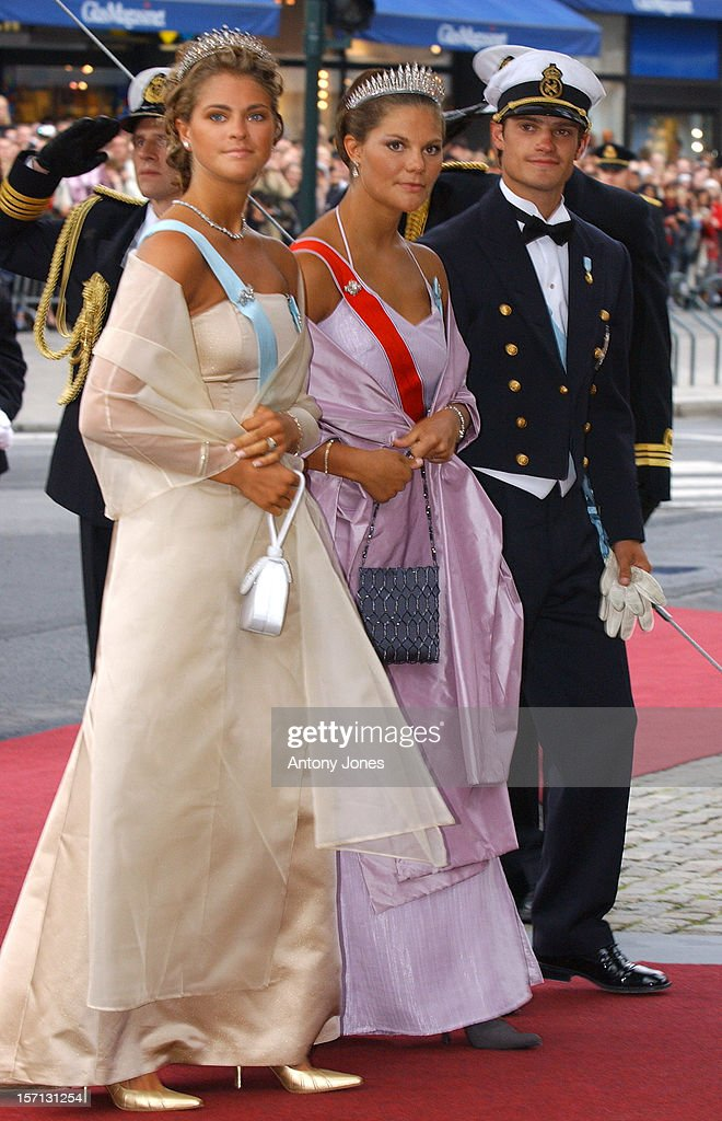 The Wedding Of Crown Prince Haakon Of Norway & Mette-Marit : News Photo